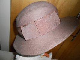 ladylike Cappello in feltro rosa antico Tessuto misto