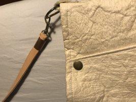 Filztasche handmade Lederriemen