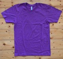 American Apparel T-shirt lila-lila Katoen