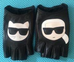 Karl Lagerfeld Vingerandschoenen zwart