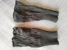 H&M Fingerless Gloves black