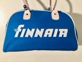 Finnair Vintage Reisetasche in Blau