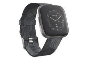 fitbit Reloj digital gris
