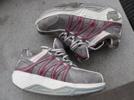Fitness-Abroll-Sneaker in grau-pink, in 38, Training beim normalen Laufen