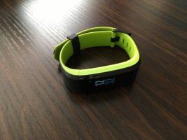 Digital Watch black-neon green