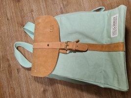 Fitz&Huxley Laptop Backpack light brown-mint