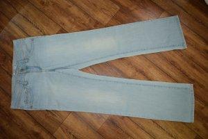 Five Pocket Jeans Hüfthose in verwaschenem Blau Gr.27/32 Esprit Denim
