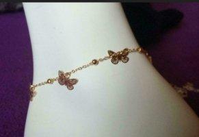 Anklet rose-gold-coloured