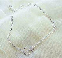 Enkelband zilver
