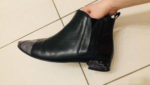 Flache Chelsea- Boots Massimo Dutti, Gr.41