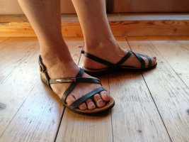 Lasocki Sandalo comodo blu-blu scuro