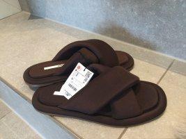 Flache Sandale Gr 36