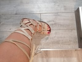 Roman Sandals cream leather