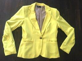 Flame Marke Jersey Blazer, moderner, schicker, Blogger-Stil, schmeichelhafte Passform, perfekte Farbe für Sommer! gr. Large jerseyblazer