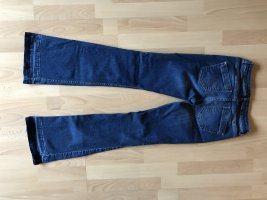 Comma Low-Rise Trousers dark blue