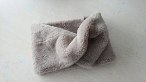 Snood grijs-bruin-taupe Polyester