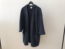 H&M Oversized jas veelkleurig Mohair