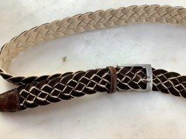 Gardeur Cintura intrecciata marrone scuro