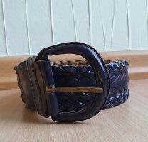 Unbekannte Marke Braided Belt dark blue