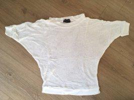 Laura Scott Camisa de ganchillo blanco