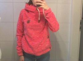 Benter Polarowy sweter różowy neonowy-malina
