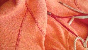 Kurtka polarowa pomarańczowy Poliester