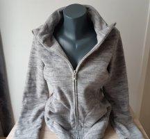 C&A Basics Giacca in pile grigio chiaro