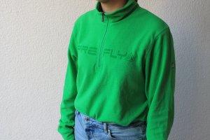 Firefly Pullover in pile verde neon-verde