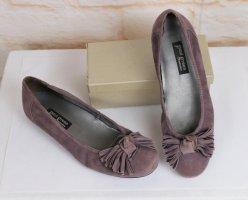 Paul Green Classic Ballet Flats mauve-grey lilac mixture fibre