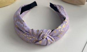 Serre-tête doré-violet