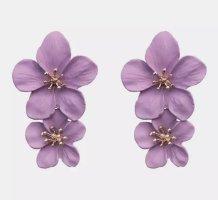Accessoires Ear stud purple-gold-colored