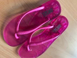 Diesel Flip flop sandalen roze