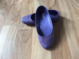 Flip Flop Ballerinas, Lila, Grösse 38
