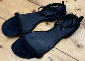 Flip*flop Strapped Sandals black leather