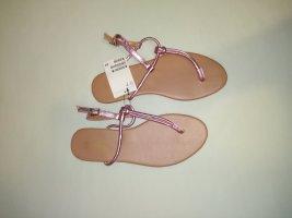 H&M Chanclas rosa