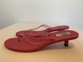 Flip Flops mit kleinem Absatz