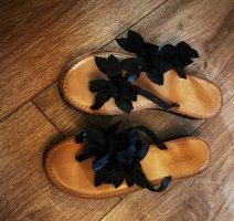 Inuovo Flip flop sandalen zwart