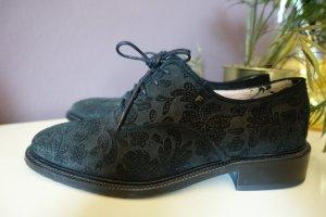 Floris van Bommel Lace Shoes black leather