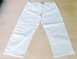 angels jeans Jeansy 7/8 biały Bawełna