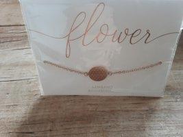 flower,  Modeschmuck, Armband rosevergoldet