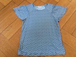 Boden Shirt met print lichtblauw-donkerblauw