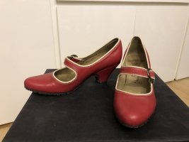 Fly london Scarpa Mary Jane rosso mattone