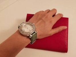 Folli Follie Watch With Leather Strap silver-colored-grass green