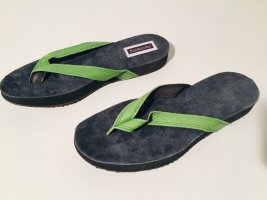 Footnote Sandalen in Grün und Blau Gr. 39