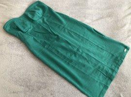 Fornarina Bustierkleid Smaragdgrün Gr. L made in Italy