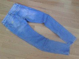 Fornarina Jeansy biodrówki niebieski