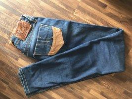 Fornarina Pantalón de tubo azul oscuro