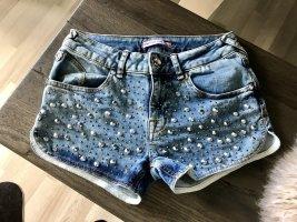 FORNARINA Shorts, Blau, Gr. 26, NEU!!