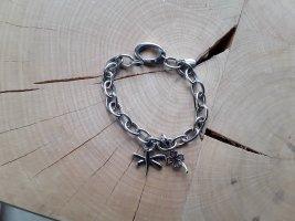 Fossil Bracelet à breloques argenté métal