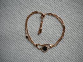 Fossil Armband in roségold mit grauem Perlmuttanhänger